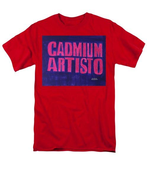 Movie Logo Cadmium Artisto Men's T-Shirt  (Regular Fit)