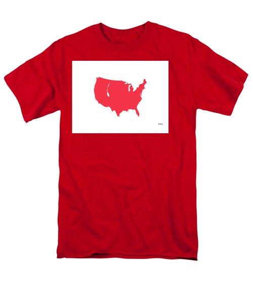 Men's T-Shirt  (Regular Fit) featuring the digital art Music Notes 5 by David Bridburg