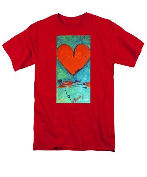 Musical Heart Men's T-Shirt  (Regular Fit) by Diana Bursztein