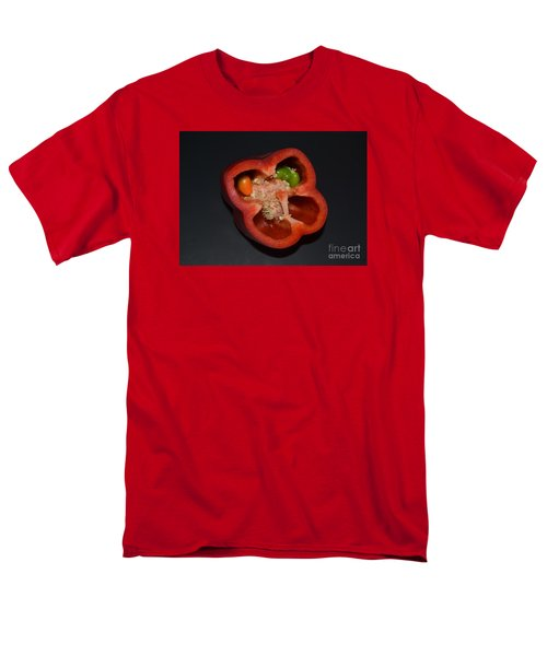 Men's T-Shirt  (Regular Fit) featuring the photograph Mutant Pepper by Melvin Turner