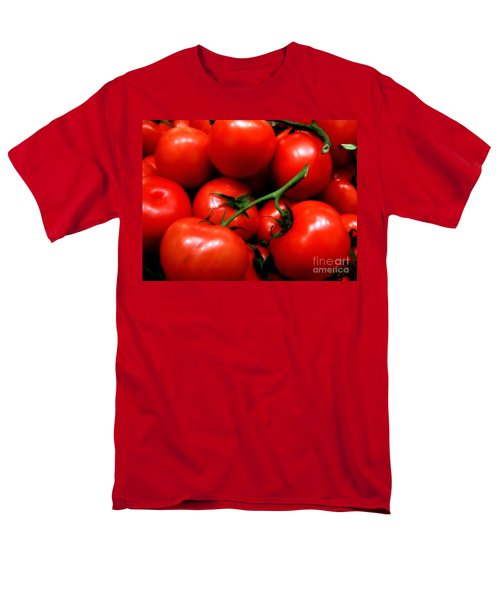 Men's T-Shirt  (Regular Fit) featuring the photograph Nice Tomatoes Baby by RC DeWinter