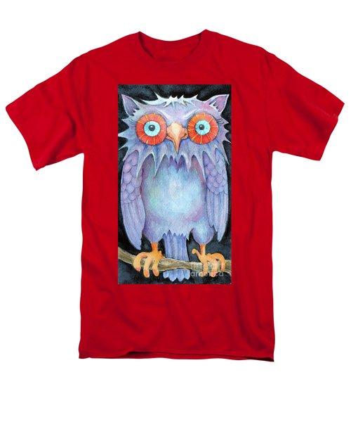 Night Owl Men's T-Shirt  (Regular Fit) by Lora Serra
