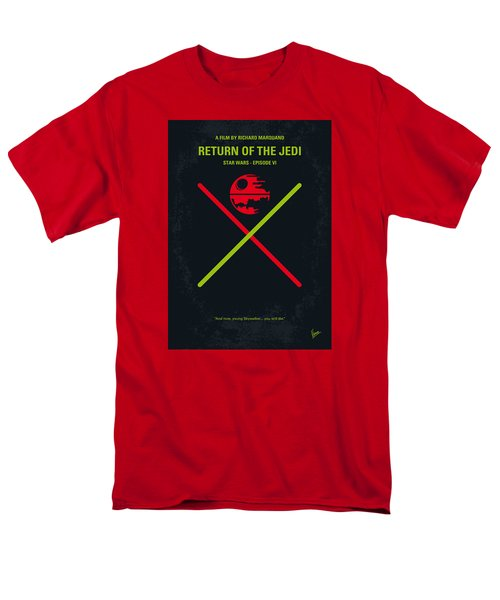 No156 My Star Wars Episode Vi Return Of The Jedi Minimal Movie Poster Men's T-Shirt  (Regular Fit)