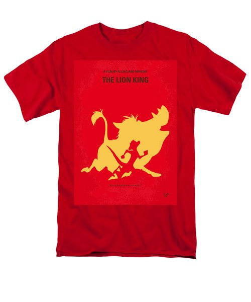 No512 My The Lion King Minimal Movie Poster Men's T-Shirt  (Regular Fit) by Chungkong Art