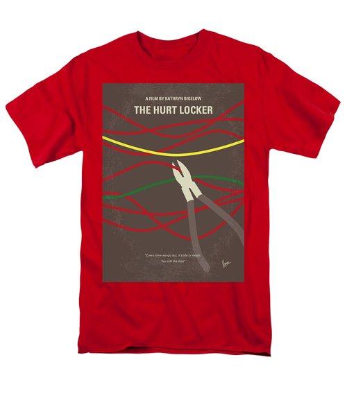Men's T-Shirt  (Regular Fit) featuring the digital art No746 My The Hurt Locker Minimal Movie Poster by Chungkong Art