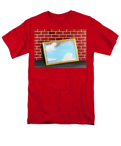 Men's T-Shirt  (Regular Fit) featuring the painting Nobody Noticed Part II by Thomas Blood