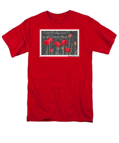 Nurtures Strength Men's T-Shirt  (Regular Fit)