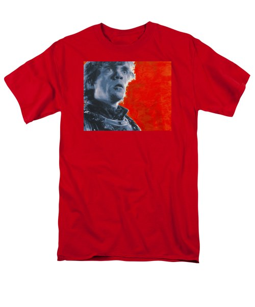 Men's T-Shirt  (Regular Fit) featuring the painting Tyrion Lannister by Luis Ludzska