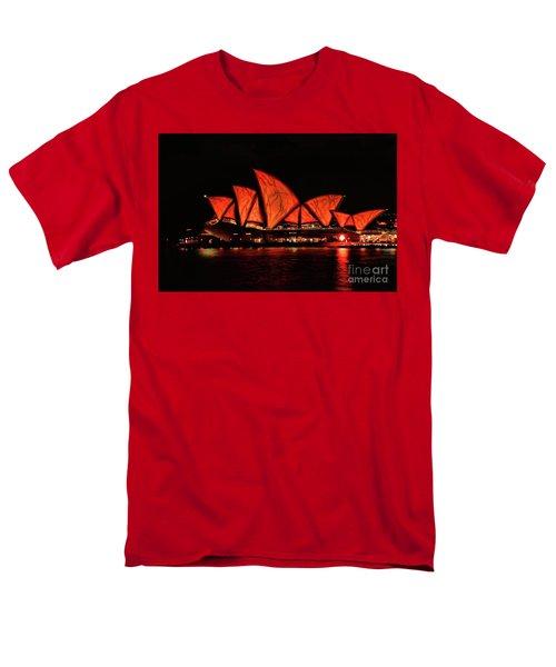 Orange Blast Men's T-Shirt  (Regular Fit) by Diana Mary Sharpton