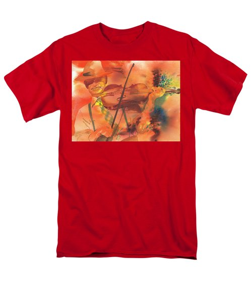 Orange Blossom Special Men's T-Shirt  (Regular Fit) by Tara Moorman