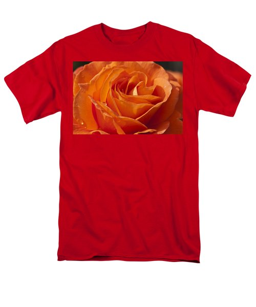Orange Rose 2 Men's T-Shirt  (Regular Fit)