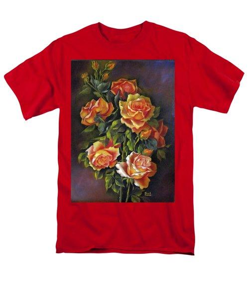 Orange Roses Men's T-Shirt  (Regular Fit) by Katia Aho