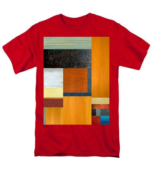 Orange Study With Compliments 2.0 Men's T-Shirt  (Regular Fit) by Michelle Calkins
