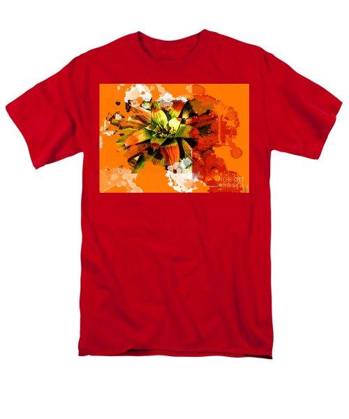 Orange Tropic Men's T-Shirt  (Regular Fit) by Deborah Nakano