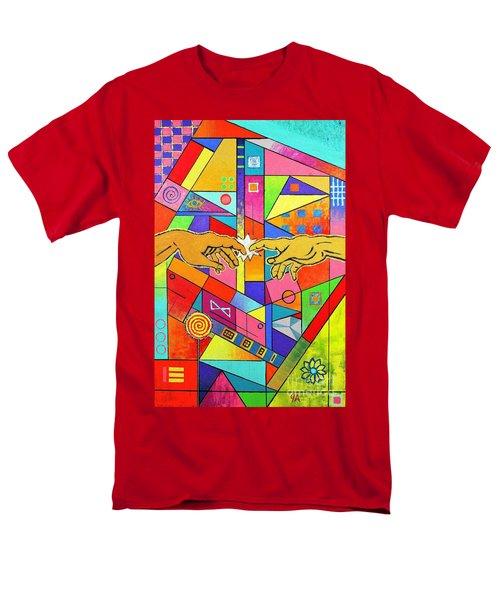 Origin Of Man Men's T-Shirt  (Regular Fit) by Jeremy Aiyadurai