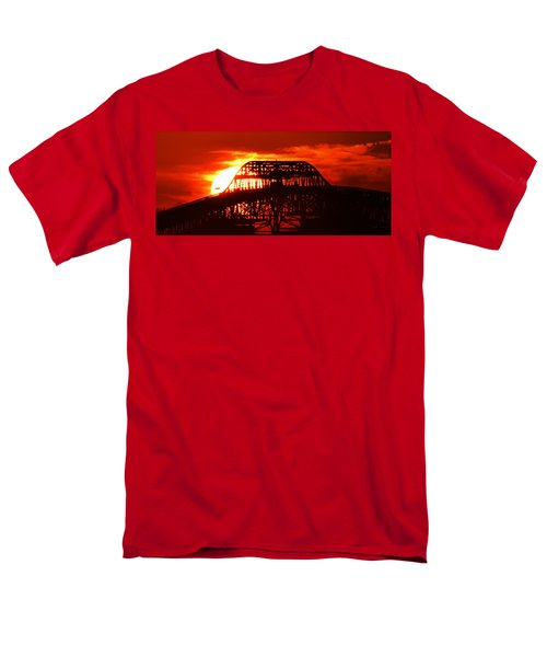 Over The Hump Men's T-Shirt  (Regular Fit) by John Glass