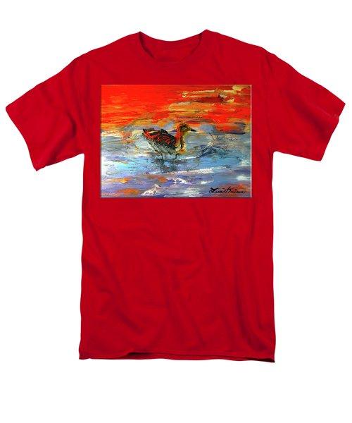 Painterly Escape II Men's T-Shirt  (Regular Fit) by Lisa Kaiser