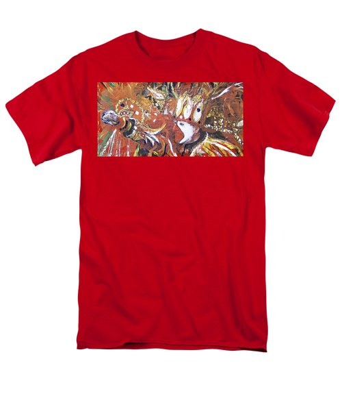 Leader Of The Mardi-gras Men's T-Shirt  (Regular Fit) by Gary Smith