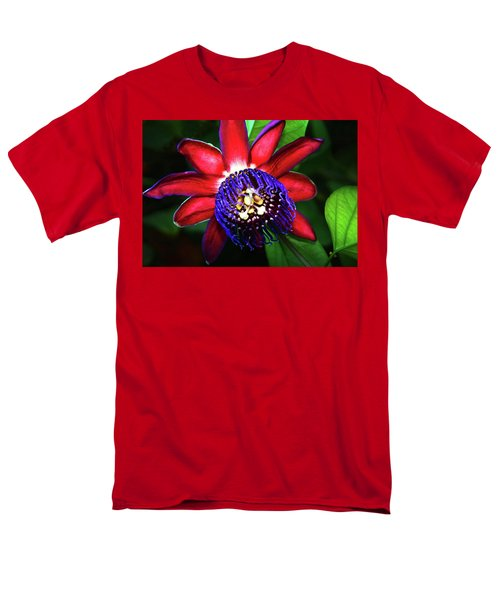 Men's T-Shirt  (Regular Fit) featuring the photograph Passion Flower by Anthony Jones