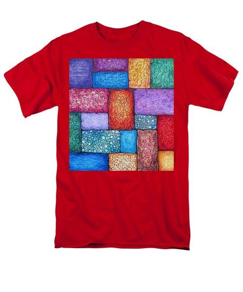 Patchwork Men's T-Shirt  (Regular Fit) by Megan Walsh