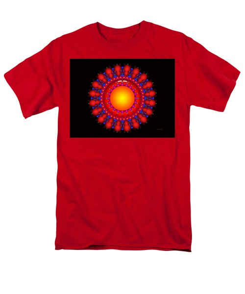 Men's T-Shirt  (Regular Fit) featuring the digital art Peace by Robert Orinski