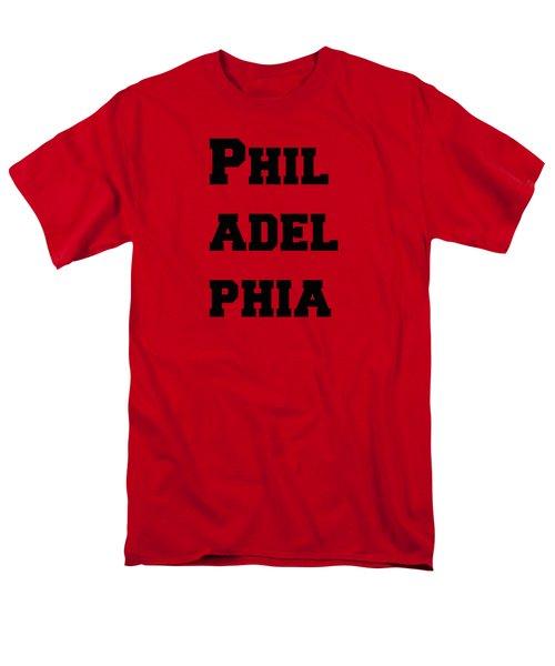 Philadelphia In Pink Men's T-Shirt  (Regular Fit) by Alice Gipson