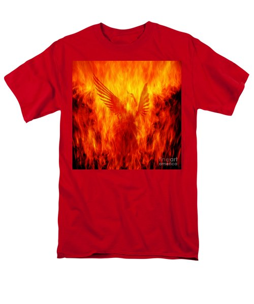 Phoenix Rising Men's T-Shirt  (Regular Fit) by Andrew Paranavitana