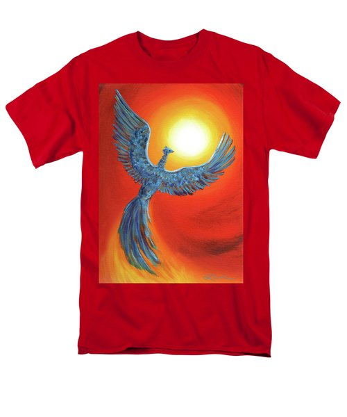 Phoenix Rising Men's T-Shirt  (Regular Fit) by Laura Iverson