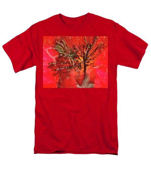 Men's T-Shirt  (Regular Fit) featuring the photograph Photo Sin Thesis by Susan Capuano