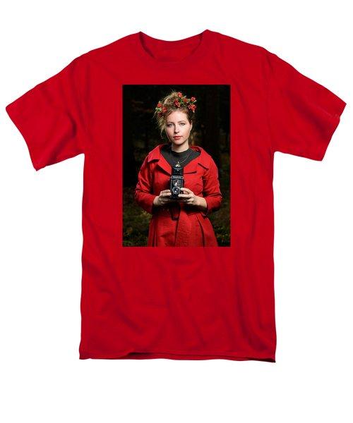 Photographer Men's T-Shirt  (Regular Fit) by Robert Krajnc