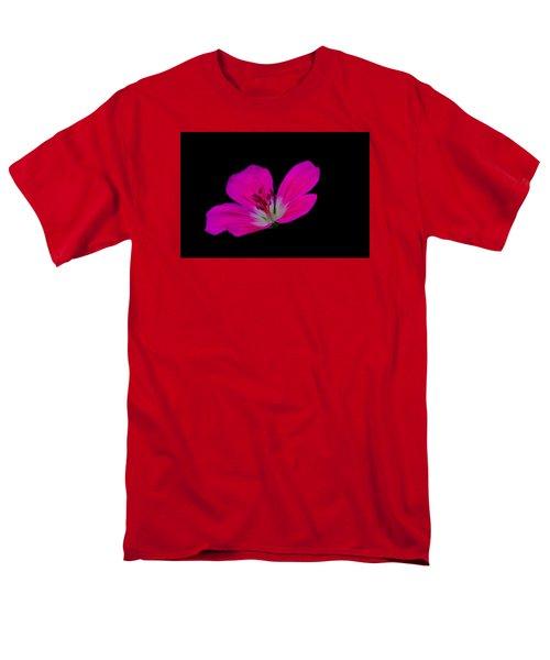 Pink Stamen Men's T-Shirt  (Regular Fit) by Richard Patmore