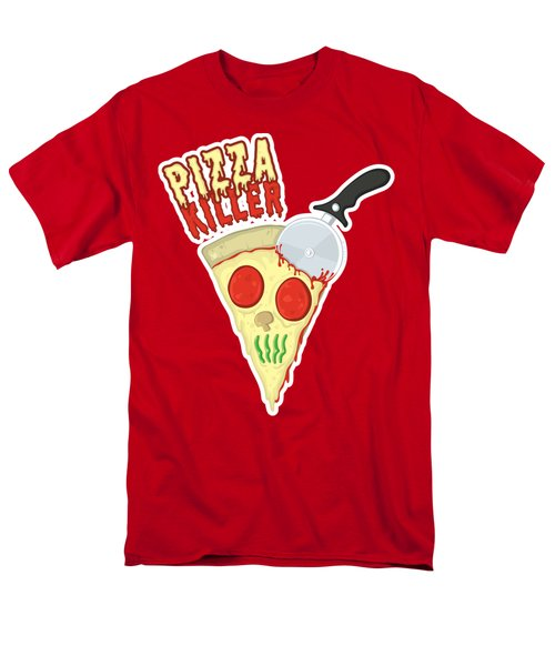Pizza Killer Men's T-Shirt  (Regular Fit)