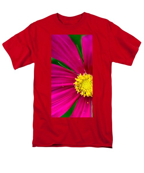 Plink Flower Closeup Men's T-Shirt  (Regular Fit) by Michael Bessler