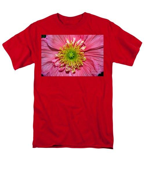 Poppy Men's T-Shirt  (Regular Fit) by Vivian Krug Cotton