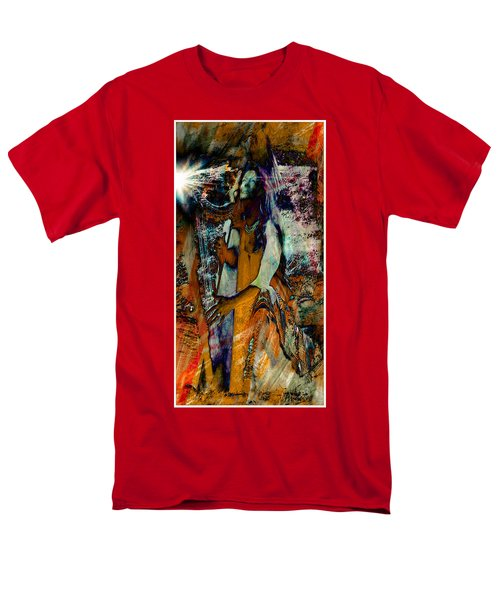 Men's T-Shirt  (Regular Fit) featuring the photograph Praise Him With The Harp IIi by Anastasia Savage Ealy