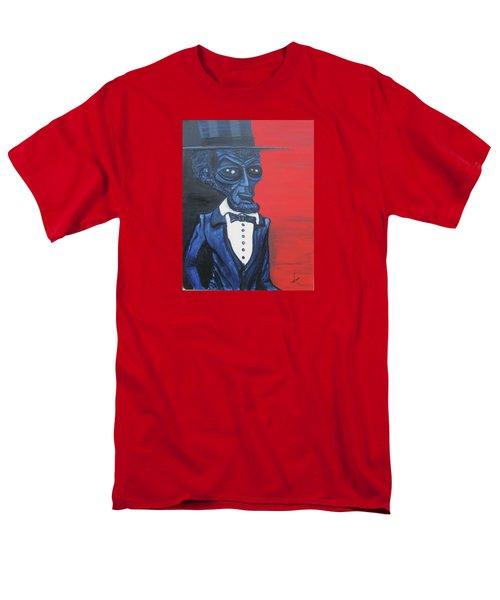 President Alienham Lincoln Men's T-Shirt  (Regular Fit)