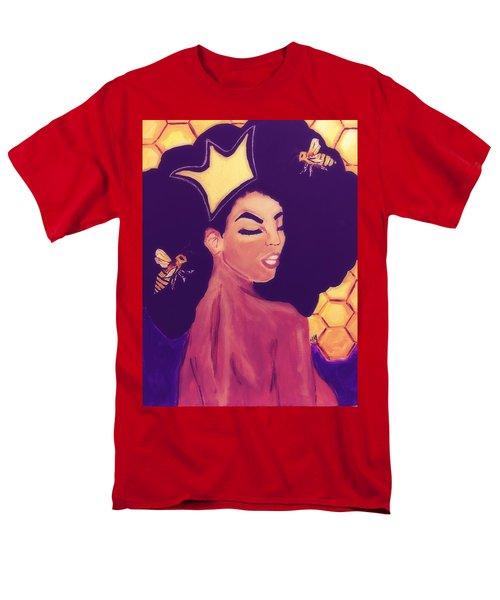 Queen Bee  Men's T-Shirt  (Regular Fit) by Miriam Moran