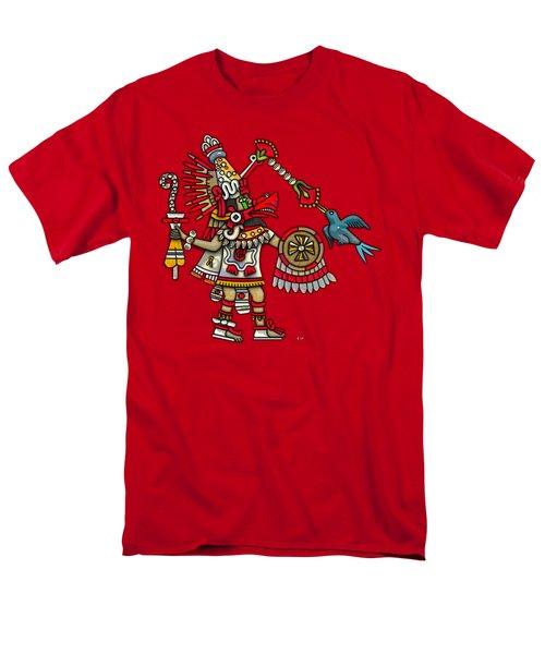 Quetzalcoatl In Human Warrior Form - Codex Magliabechiano Men's T-Shirt  (Regular Fit) by Serge Averbukh
