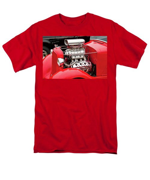 Men's T-Shirt  (Regular Fit) featuring the photograph Red 1992 by Guy Whiteley