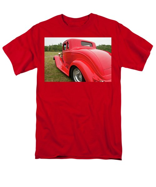 Men's T-Shirt  (Regular Fit) featuring the photograph Red 1994 by Guy Whiteley