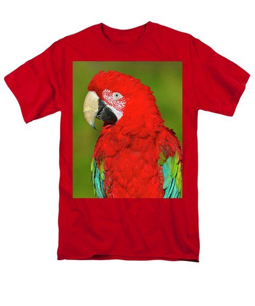Men's T-Shirt  (Regular Fit) featuring the photograph Red And Green by Tony Beck