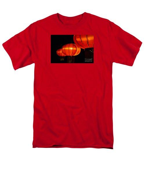 Red Lanterns Men's T-Shirt  (Regular Fit) by Rebecca Davis