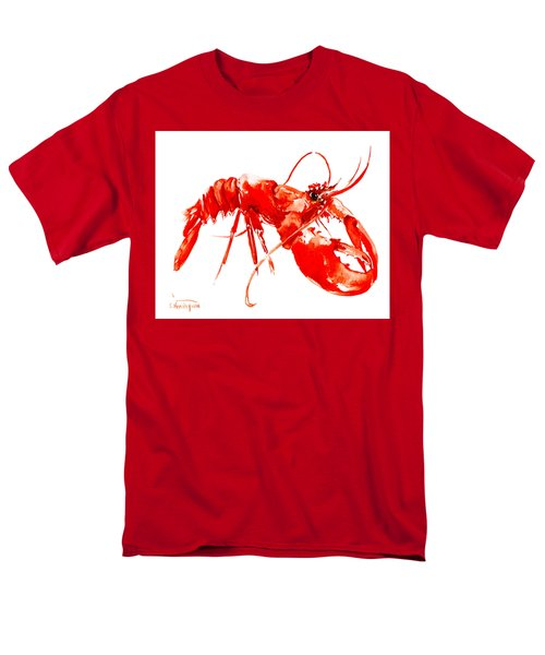 Red Lobster Men's T-Shirt  (Regular Fit) by Suren Nersisyan