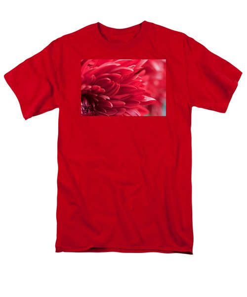 Red Mum Men's T-Shirt  (Regular Fit) by Jim Gillen