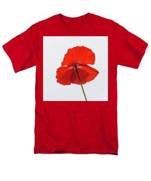 Red Poppy Men's T-Shirt  (Regular Fit)