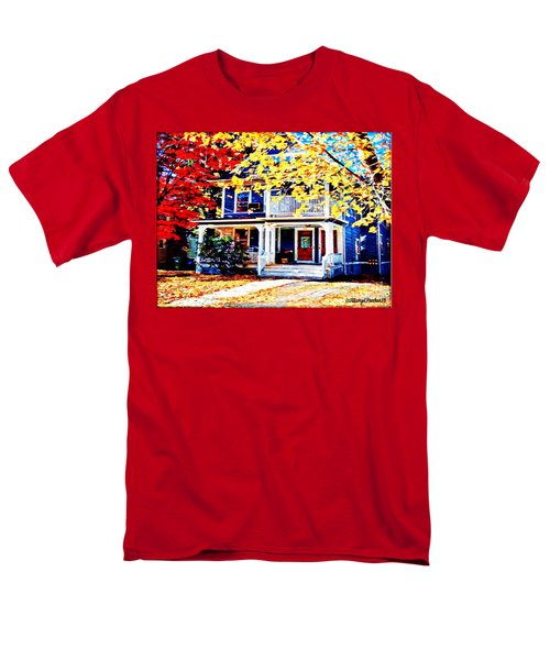 Reds And Yellows Men's T-Shirt  (Regular Fit) by MaryLee Parker