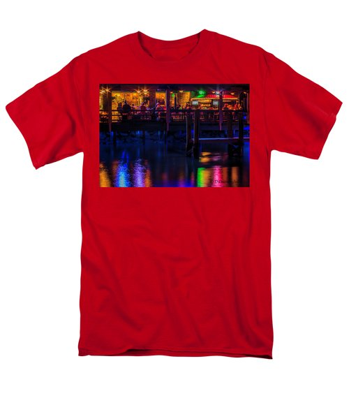 Reflections From Riverview Grill Men's T-Shirt  (Regular Fit) by Dorothy Cunningham