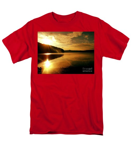 Reflections Of The Day Men's T-Shirt  (Regular Fit) by Scott D Van Osdol