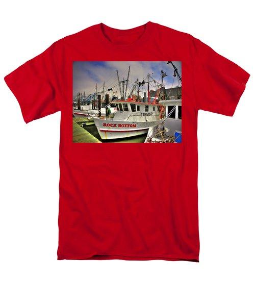 Men's T-Shirt  (Regular Fit) featuring the photograph Rock Bottom by Savannah Gibbs