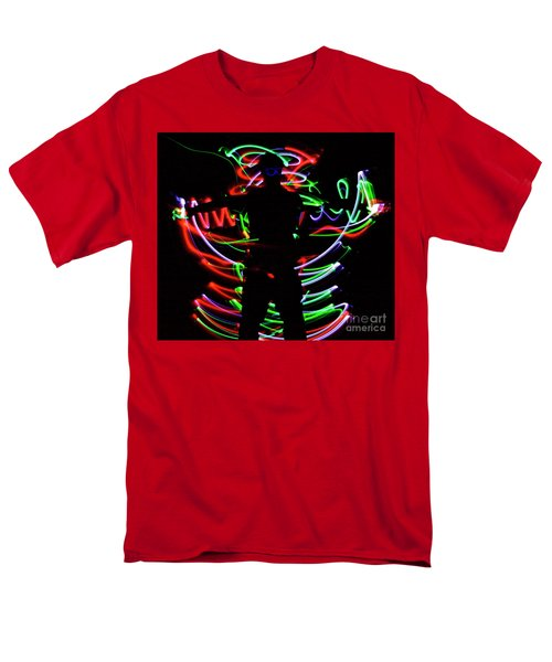 Men's T-Shirt  (Regular Fit) featuring the photograph Rockin' In The Dead Of Night by Xn Tyler